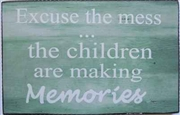 Making Memories Plaque