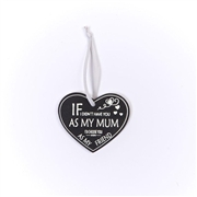 Mum As A Friend Heart Tag