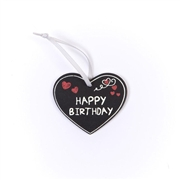 Happy Birthday Heart Tag