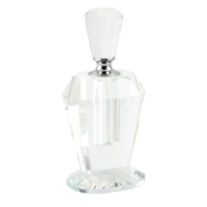 Clear Crystal Perfume Bottle