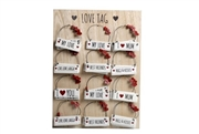 Hanging Love Tags 8x3cm