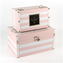 Set Of 2 Storage Boxes - Fabulous