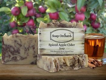 Spiced Apple Cider Soap