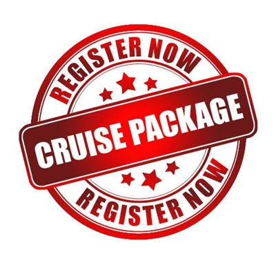 $100 Cruise Package - Up to 3 Guests for an Additional $35 each