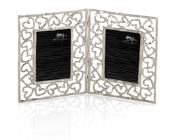 Michael Aram Heart Double Mini Frame