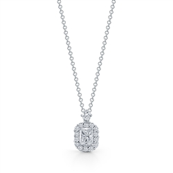 Diamond Pendant in 14K White Gold