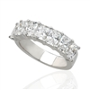 RADIANT CUT DIAMOND RING IN PLATINUM