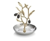 Michael Aram Olive Branch Two Tone Ring Holder