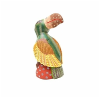 Narcisco the Toucan Genuine Oaxacan Wood Carvings