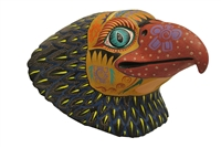 Eagle Face Genuine Oaxacan Wood Carving