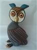 Blue Owl Genuine Oaxacan Wood Carving