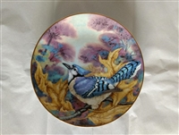 Blue Jay Vintage Collector Plate 1983 - Songbirds of the South by A.E. Ruffing