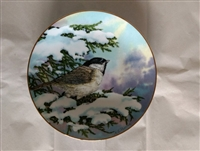 Carolina Chickadee Vintage Collector Plate 1983 - Songbirds of the South