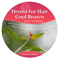 Ancient Sunrise Henna for Hair Cool Brunette Kit (Sample)