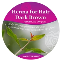 Ancient Sunrise Henna for Hair Dark Brunette Kit (Sample)