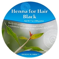 Ancient Sunrise  Henna for Hair Black Kit (Sample)