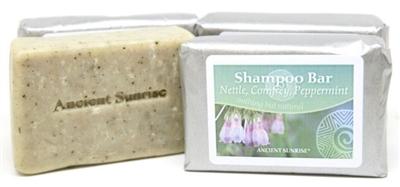 Ancient Sunrise Nettle, Comfrey and Peppermint Shampoo Bar (4 oz.)