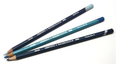 Aquarellable Pencils (Indigo) 3-count