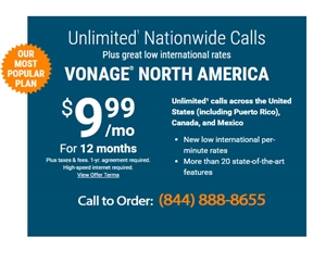 Vonage Home Phone Services