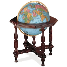 Statesman Globe Blue Oceans By Replogle
