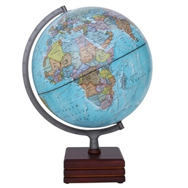"Aviator II Illuminated Globe by Waypoint Geographic | 12"" Desktop Globe"