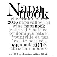 A417 NAPANOOK DOMINUS ESTATE NAPA VALLEY 2016 750ml x 6 [OWC6, Stock in France]