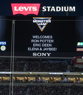 Video Board Messages - Houston