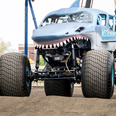 Intermission Megalodon Monster Jam Ride Truck