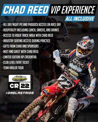 Chad Reed Supercross VIP Experience - Las Vegas, NV 4/25/2020