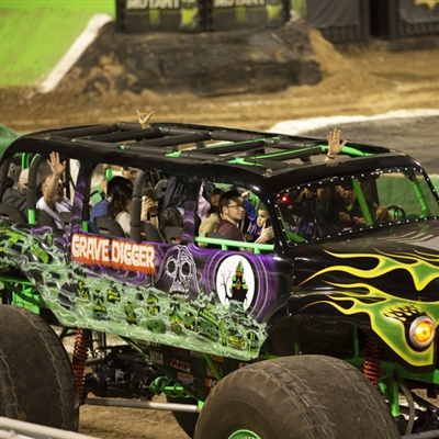 Intermission Grave Digger Monster Ride Truck