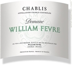 2015 WILLIAM FEVRE CHABLIS 750ML