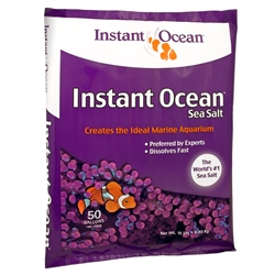 Aquarium Systems Instant Ocean Sea Salt, 50 gallons