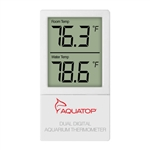 AquaTop External Digital Thermometer w/ Dual Temp Display (DGT-25)
