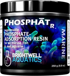 Brightwell Aquatics PhosphatR Regenerable Phosphate Resin, 250 ml