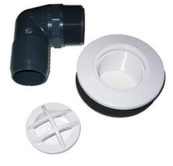 Pondmaster Bottom Drain Kit for All Low Pressure Filter Systems