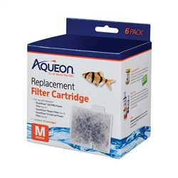 Aqueon Filter Cartridge QuietFlow 10 Medium 6-pack 06085