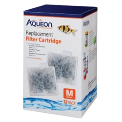 Aqueon Filter Cartridge QuietFlow 10 Medium 12 Pack 06085