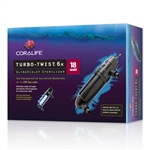 Coralife Turbo Twist 6X UV Sterilizer 18W