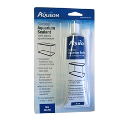 Aqueon Clear Silicone Aquarium Sealant 3 oz