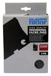 Hydor Professional 150 Filter Replacement Black Coarse Filter Pads, 2-Pack