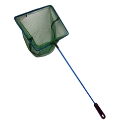 "JBJ 6"" Coarse Fish Net w/ Plastic Handle"
