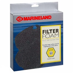 Marineland Canister Filter C-360 Filter Foam, Rite-Size T