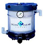 Ocean Clear Model 317 Canister Filter with Polystrand Triple Micron Filter