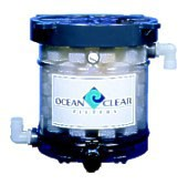 Ocean Clear Model 319 Canister Filter with Polystrand Micron and Carbon Filter