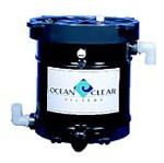 Ocean Clear Model 320 Canister Filter with Activated Carbon Filter