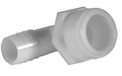 "Ocean Clear Replacement Nylon Elbow Adapters 3/4"" MPT x 1"" Hose Barb (Part # 82374)"