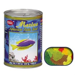 Ocean Star International Marine Flake Food 7.06 oz OSI