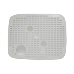 Penn-Plax Cascade 700 Canister Filter and Penn-Plax Cascade 1000 Canister Filter replacement Media Basket Cover. Penn-Plax part # CCF222.
