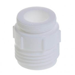 Python Replacement 13A White Faucet Adapter