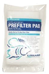 Pentair Aquatics Lifegard Replacement Filter Pad Material